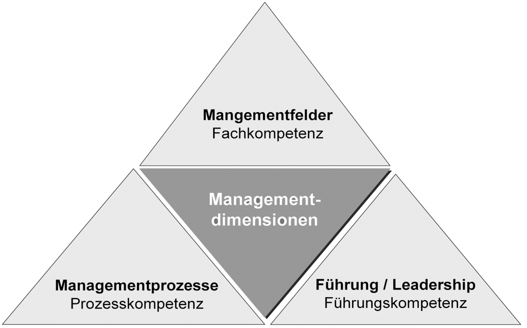 The 3 dimensions of management